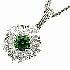 ギメル(gimel) デマントイドガーネット ダイヤモンドネックレスの買取強化例です。