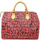 ルイヴィトン グラフィティ スピーディ30 フューシャ ハンドバッグ 中古美品の買取強化例です。