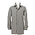 ヘルノ メンズ グレー 3WAY ダウン脱着可 ショート シングルコート 中古美品の買取強化例です。