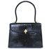 モラビト TRAVIATA トラヴィアータ 黒 クロコダイル ハンドバッグ 中古品の買取強化例です。