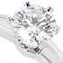 ティファニー Pt950 ダイヤモンド ソリティアリング 0.46ct 鑑定書付 美品の買取強化例です。