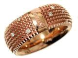 ダミアーニ(Damiani) ピンクゴールドダイヤ リングの買取強化例です。
