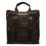 ドルチェ&ガッバーナ 黒 レザーハンドバッグ 中古美品の買取強化例です。