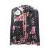 レオナール  黒 花柄ライン 羽織りカーディガン 美品の買取強化例です。