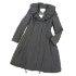 ルネ ブラック ボリュームカラー フォックスファー脱着可 プリンセスコートの買取強化例です。