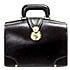 土屋鞄製造所 黒  ブライドルレザー ハンディ ダレスバッグの買取強化例です。