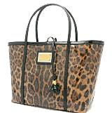 ドルチェ&ガッバーナ レオパード柄 メタルプレート ハンドトートバッグ 中古美品の買取強化例です。