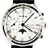 ジョージジェンセン 382クロノグラフ ムーンフェイズ レザーベルト 腕時計の買取強化例です。