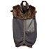 サカイ 美品 ブラック ウール ファー付きニット ジップべストの買取強化例です。