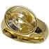 ジョージジェンセンヴィンテージ K18 ルチルクォーツ(針入り水晶)リングの買取強化例です。