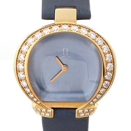 オメガ 5885.72.51 スペシャリティーズ オメガマニア ダイヤベゼルcal.4000 腕時計の買取強化例です。