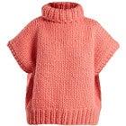 アイラブミスターミトンズ Roll-neck wool top ケーブルニットの買取強化例です。