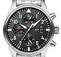 IWC パイロット ウォッチ 黒文字盤 クロノグラフ クロノ IW377704 腕時計