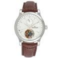 ジャガールクルト マスタートゥールビヨン デュアルタイム 自動巻き SS 腕時計