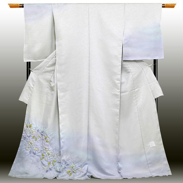 久保田一竹  辻が花訪問着の買取強化例です。