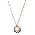 agete k10YG メレダイヤ ボールトップネックレス 販売証明付 中古美品の買取強化例です。