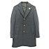 ラルディーニ ブラック ブートニエール付き ウール シングル チェスターコートの買取強化例です。