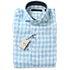 ラルディーニ ブロックチェック ワイドカラー ドレスシャツ ※タグ付き未使用の買取強化例です。