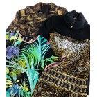 シルク総柄ワンピース2点 刺繍ジャケット ニットジャケット 計4点 美品の買取強化例です。