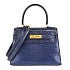エルメス ブルー リザード ミニケリー ゴールド金具 2WAYバッグ 美品 ストラップ有の買取強化例です。