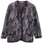 美品 ミッソーニ 総柄 ノーカラーウールニットジャケット カーディガンの買取強化例です。