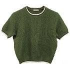 14年 ミュウミュウ 半袖ショート丈ニット レディース36 美品の買取強化例です。