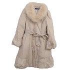エムズグレイシー 通常使用 ブルーフォックスファー襟付 袖 裾ギャザー ダウンコートの買取強化例です。