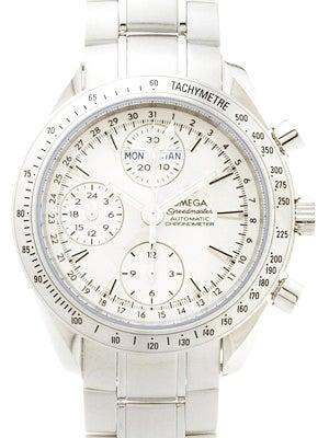 オメガ 3221.30 スピードマスター トリプルカレンダー 白文字盤 ステンレス  腕時計の買取強化例です。