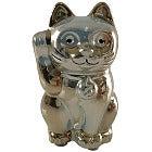 バカラ Lucky Catラッキーキャット 招き猫 オブジェ クリスタルの買取強化例です。