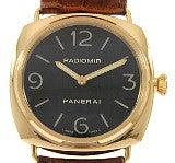 パネライ PAM00231 ラジオミールベース 45mm 18KPG無垢 100m防水 腕時計