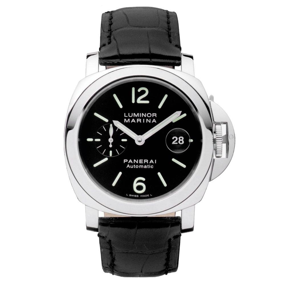 パネライ PAM00104 ルミノールマリーナ 44mmケース ステンレス ラバーベルト 腕時計の買取強化例です。