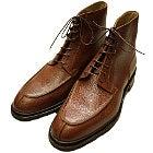 パラブーツ ブラウン レザー セリニャン Uチップ ラバーソール ブーツ 美品の買取強化例です。