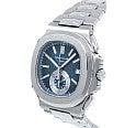 パテックフィリップ Ref:5980 ノーチラス クロノグラフ 自動巻き 腕時計