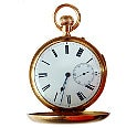 ミニッツリピーター<br>K18 スモセコ 懐中時計