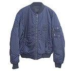 プラダ ネイビー MA-1 ナイロン フライトジャケット 中古美品の買取強化例です。