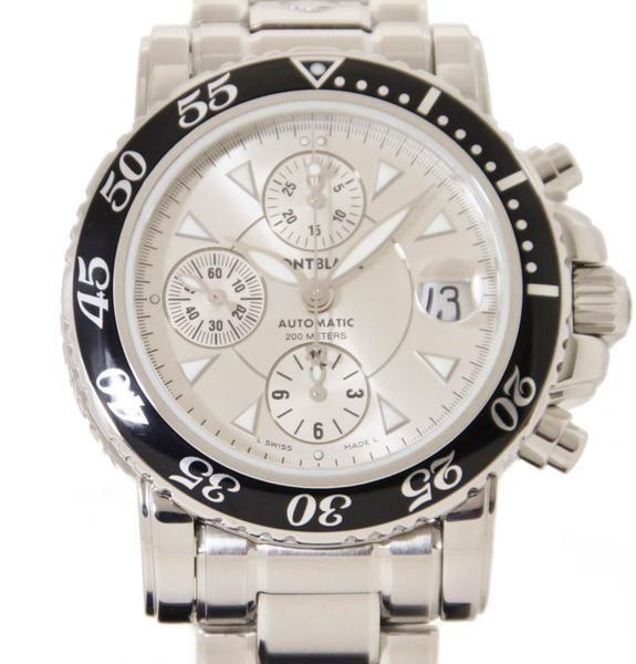 モンブラン(MONTBLANC) 7034 スポーツクロノ 腕時計の買取強化例です。