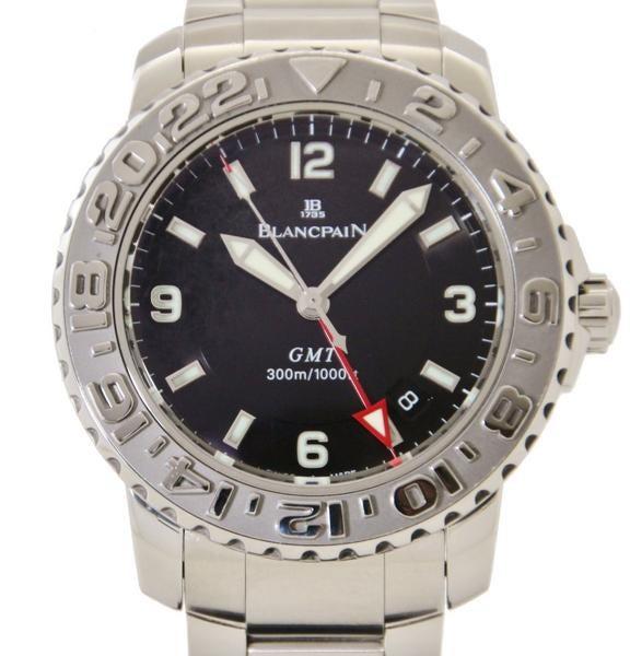 ブランパン 2250-1130-71 コンセプト2000 トリロジーGMT 自動巻き時計 未使用の買取強化例です。