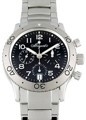 ブレゲ 3860ST/92/SW9 トランスアトランティック SS 自動巻き時計 未使用の買取強化例です。