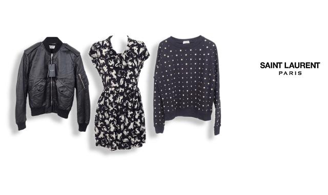 サンローランパリのサンローランパリ洋服買取の高価買取ならお任せ下さい。
