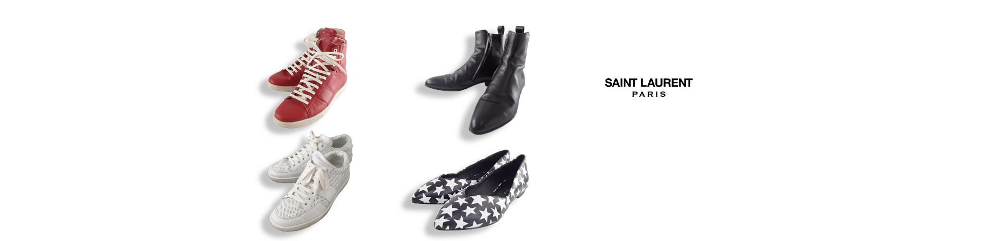 サンローランパリのサンローランパリ靴買取の高価買取ならお任せ下さい。