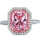 pt950 加熱ピンクサファイア10.3ct メレダイヤ1.66ct 指輪の買取強化例です。