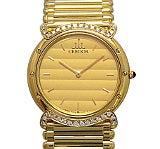 セイコークレドール 5A74-0060 ボーイズケケース k18 金無垢 ダイヤ 腕時計 中古美品
