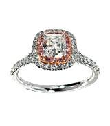 ティファニー(Tiffany & Co.) ソレストリング ピンクメレダイヤモンドの買取強化例です。