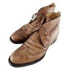 ステファノブランキーニ ウイングチップ ブローグブーツの買取強化例です。