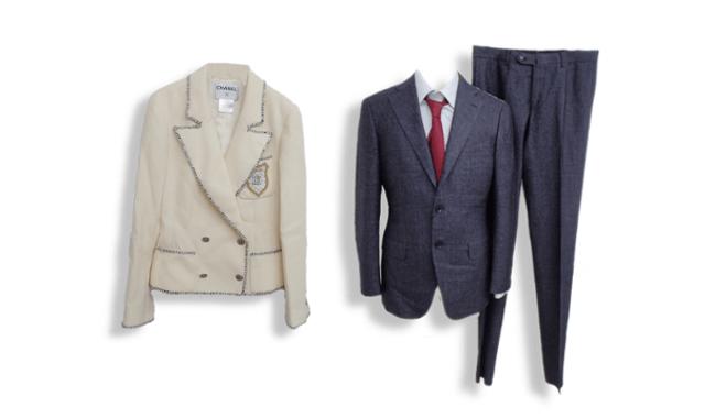 スーツの高価買取ならお任せ下さい。