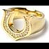 シンパシーオブソウル YG 馬蹄 シューホース ダイヤモンド リング指輪の買取強化例です。