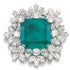 タサキ(田崎真珠) PT950 5.5ctエメラルド ダイヤモンド リングの買取強化例です。