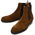 アンユーズド(UNUSED) ブラウン スエード サイドゴアブーツ 27cm 美品の買取強化例です。