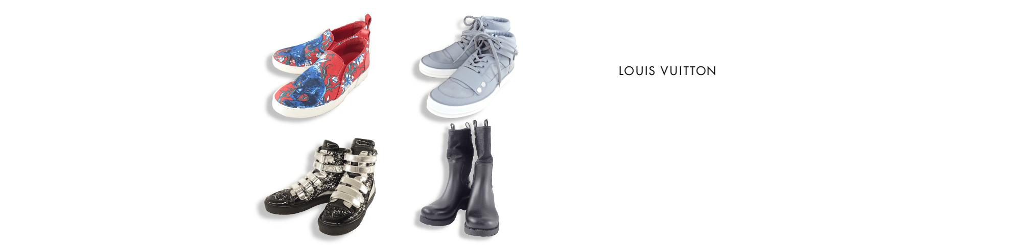 ルイヴィトンのルイヴィトン靴買取の高価買取ならお任せ下さい。