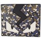 フェンディ Bag Bugs モンスター 迷彩柄 二つ折り財布の買取強化例です。